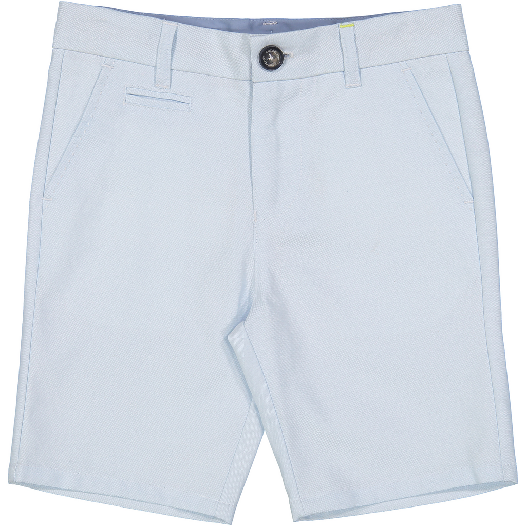 Coco Blanc Lt. Blue Oxford Shorts