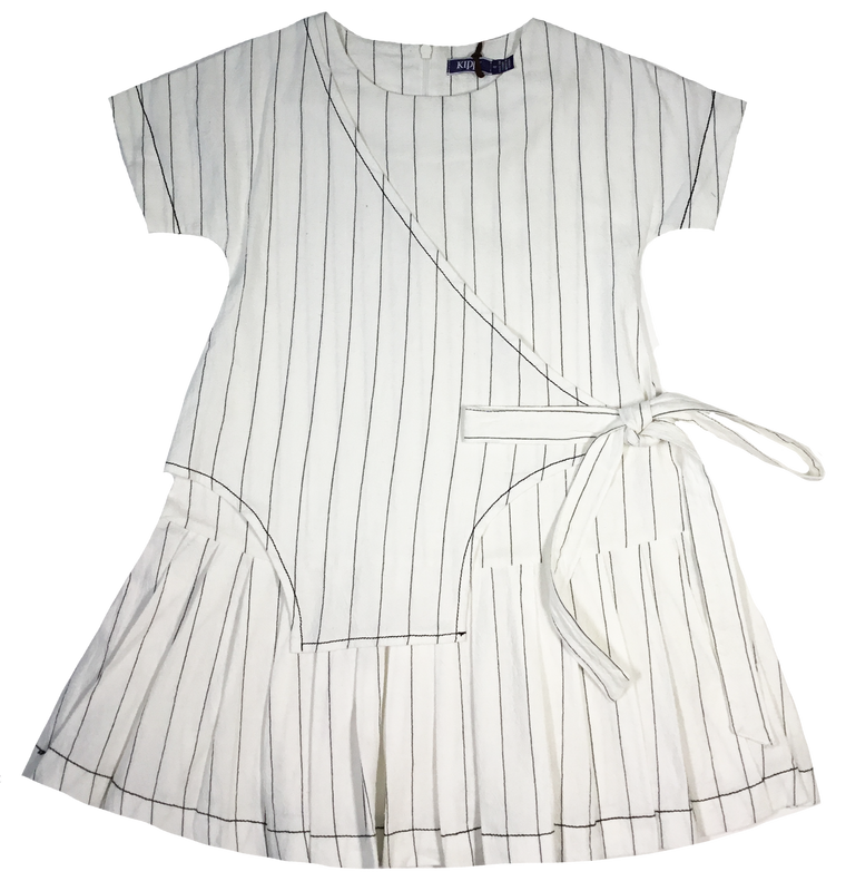 Kipp Pinstripe Dress