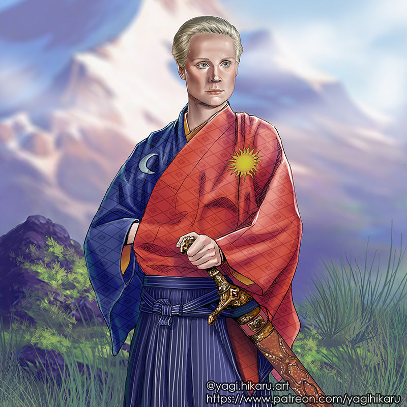Brienne / Kimono of House Tarth