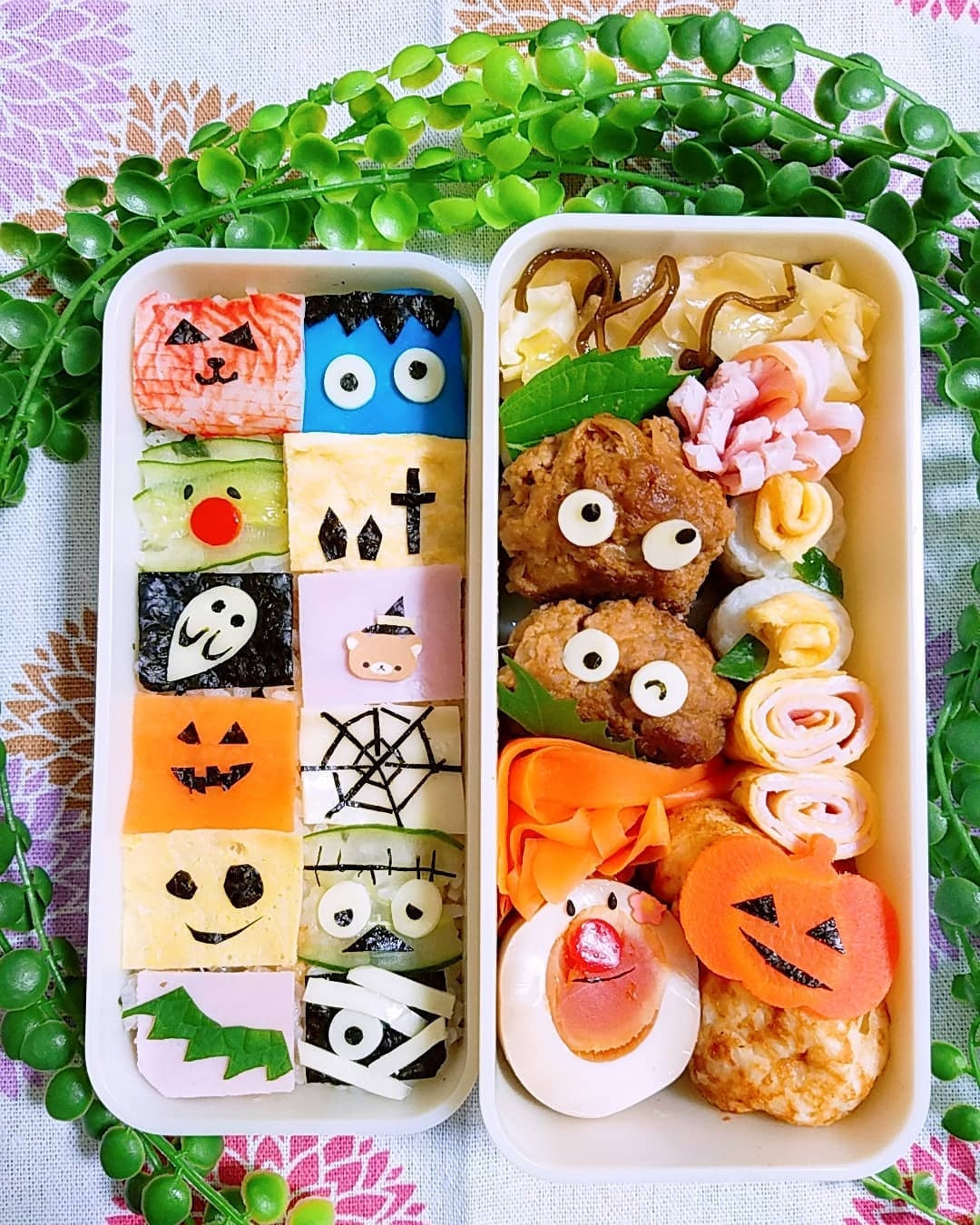 Adorable Halloween Bento Box