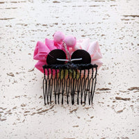 Cherry Blossoms Kanzashi Hair Comb for Kimono - Back