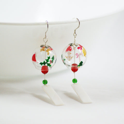 Holiday Edition Wind Bell Earrings