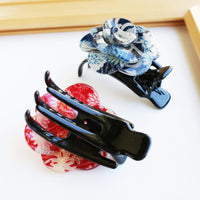 Japanese Camellia Claw Clip by Cocoluck - Back