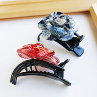 Japanese Camellia Claw Clip by Cocoluck - Side