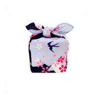 Japanese Furoshiki Fabric Gift Wrap - Beautiful Blossoms