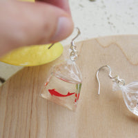 Japanese Koi Fish Resin Earrings