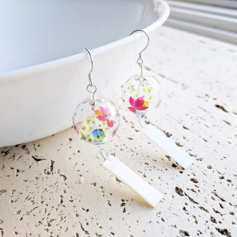 Japanese Wind Bell Earrings