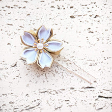 Golden Sakura Hair Pin