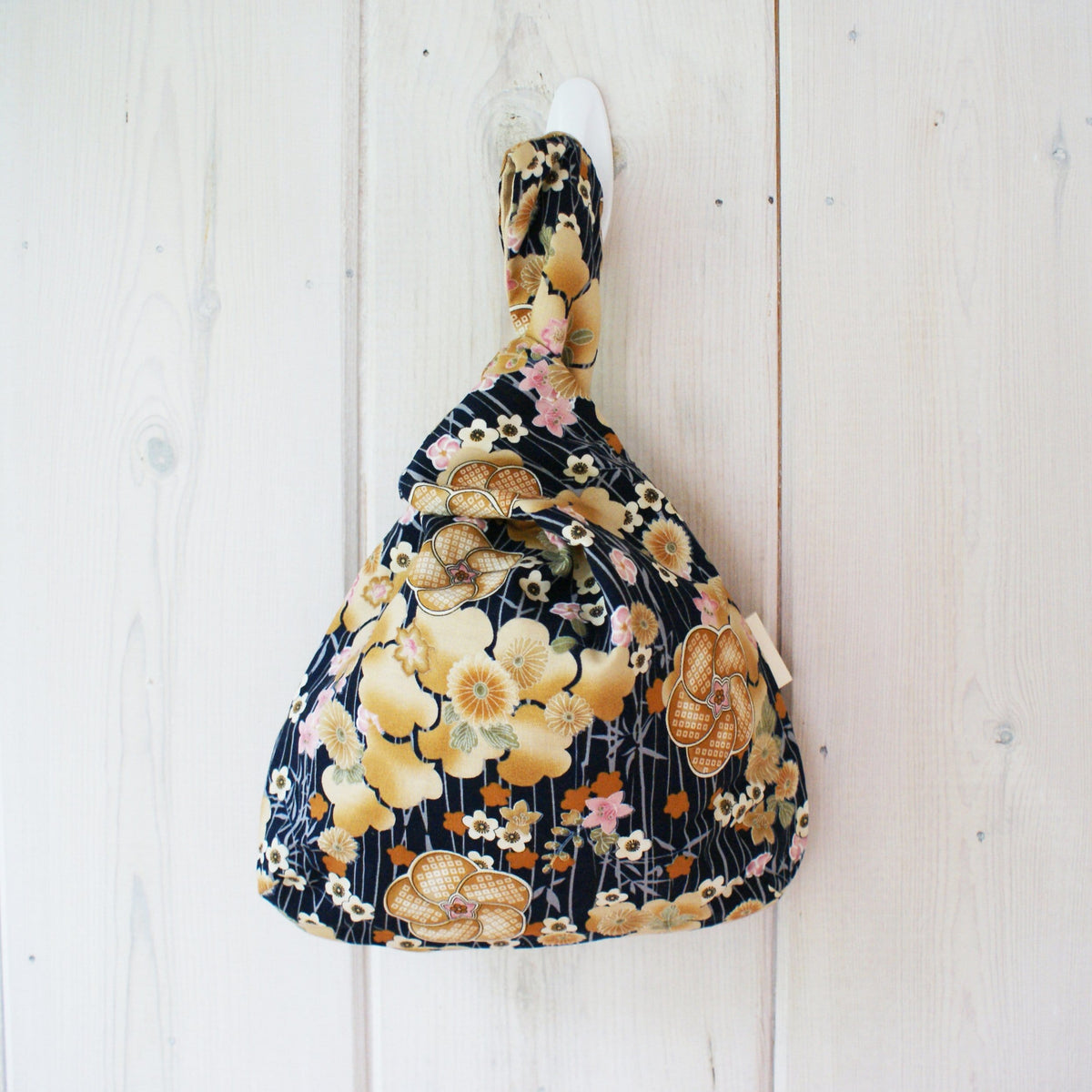 Knot Bag Plum Garden Navy