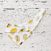 Pet Bandana - Lucky Cat Yellow