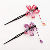 Sakura Swaying Petal Hair Stick by Cocoluck Japan