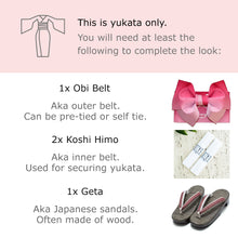 What you need to wear a yukata