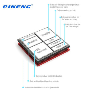 PINENG 5000mAh Mobile Power Bank