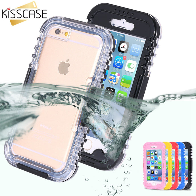 KISSCASE Swimming Pouch Cover for iPhone 6 and 7