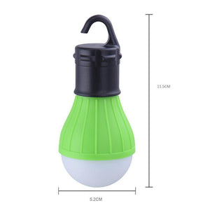 Portable outdoor Hanging 3LED Camping Lantern