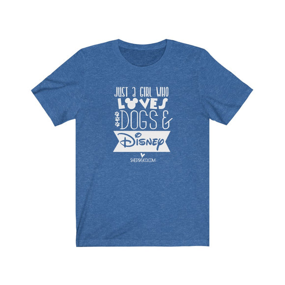 Dogs & Disney Tee - White Design