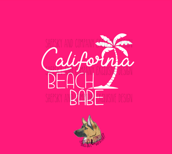Design Only: Cali OR Florida Beach Bum / Babe
