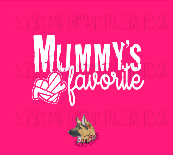 Design Only: Mummys Favorite