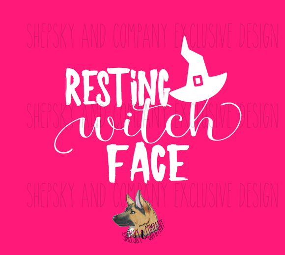 Design Only: Resting Witch Face