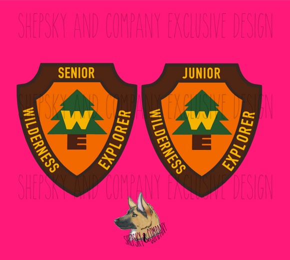 Full Color Design Only: Wilderness Explorer