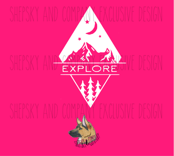 Design Only: Explore Mountains and Trees