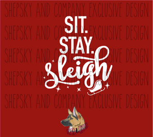 Design Only: Sit Stay Sleigh