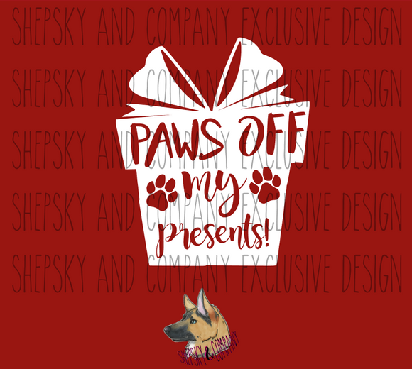 Design Only: Paws off my Presents