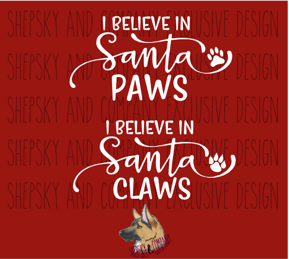 Design Only: Santa Paws + Claws