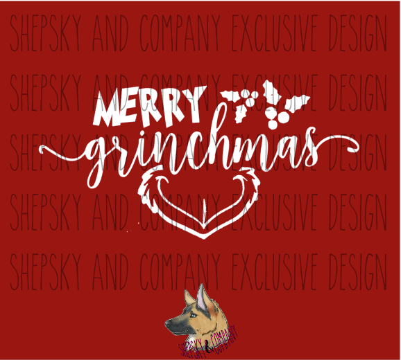 Design Only: Merry Grinchmas