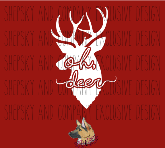 Design Only: Oh, deer!