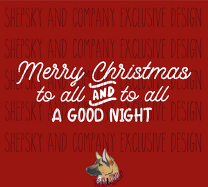 Merry Christmas To All.Design Only Merry Christmas To All To All A Good Night
