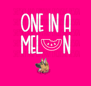 Design Only: One in a Melon