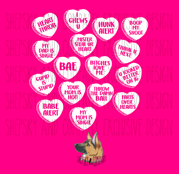 Design Only: Candy Convo Heart