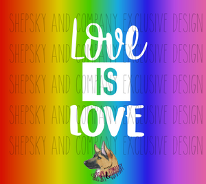 Love is Love {PRIDE}