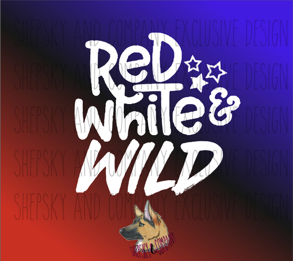 Red White and WILD {Add-on}