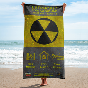 Fallout Warning Towel - The Planetary Broadcast Network