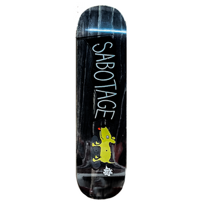 Sabotage Deck | Black | 8.1""