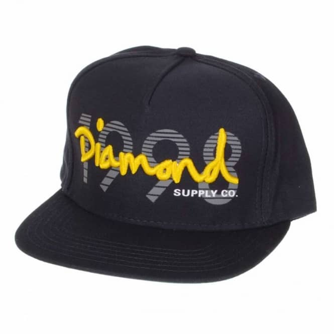 Diamond Supply Co. 1998 OG Script Snapback