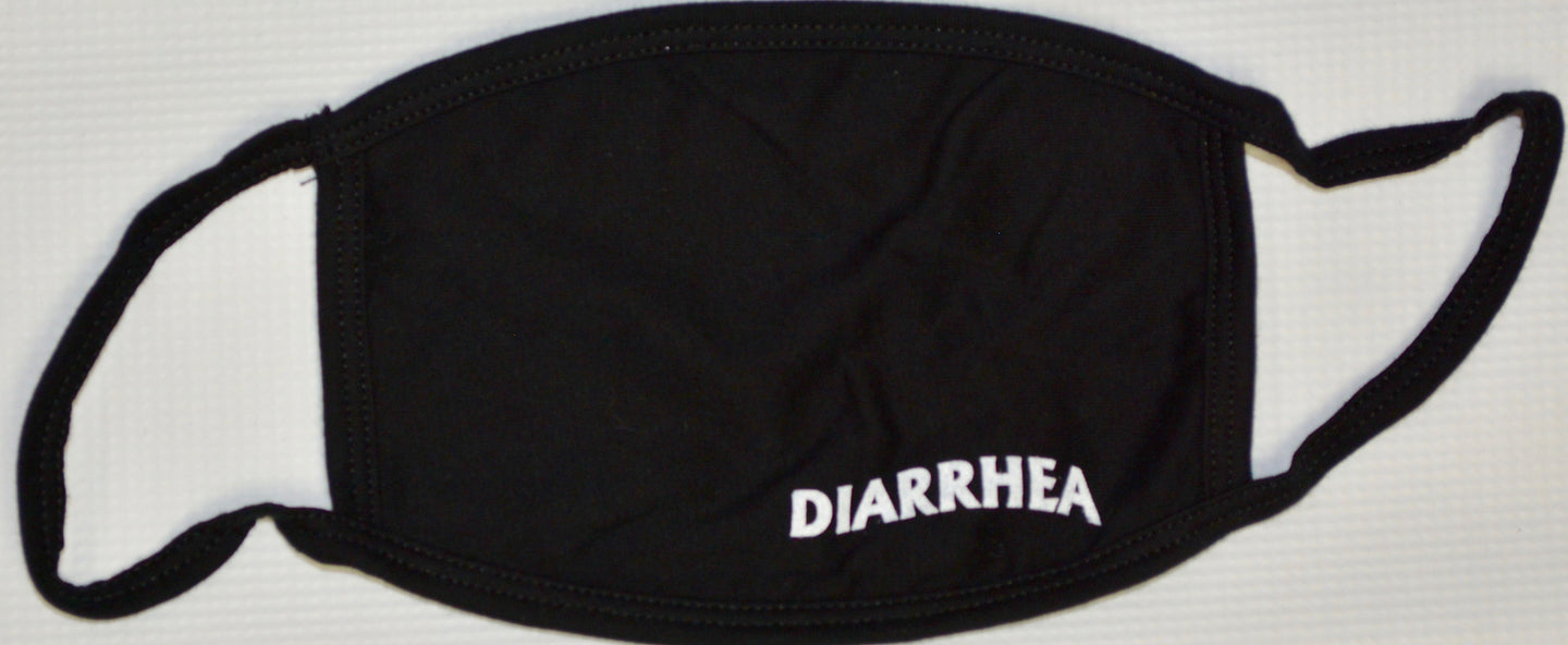 DIARRHEA FACE MASK