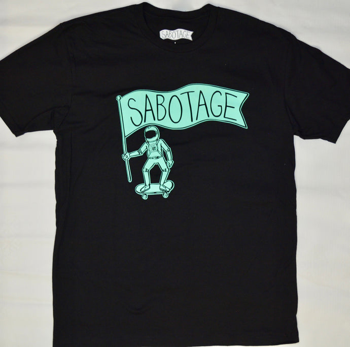 SABOTAGE SPACE MAN TEE