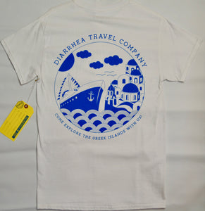 DIARRHEA TRAVEL CO. TEE