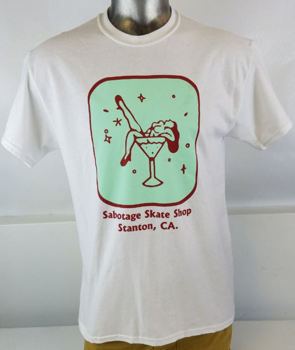 Sabotage Skate Shop Martini Girl Tee