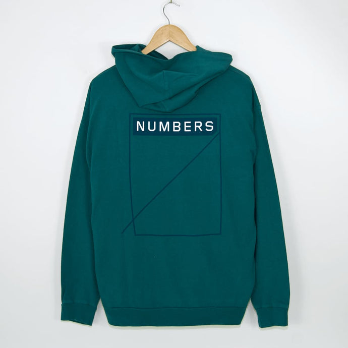Numbers Edition Two Tone 12:45 Angel Pullover Hooded Sweatshirt