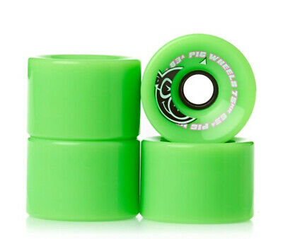 Pig Wheels | Green Cruisers | 75MM 83A