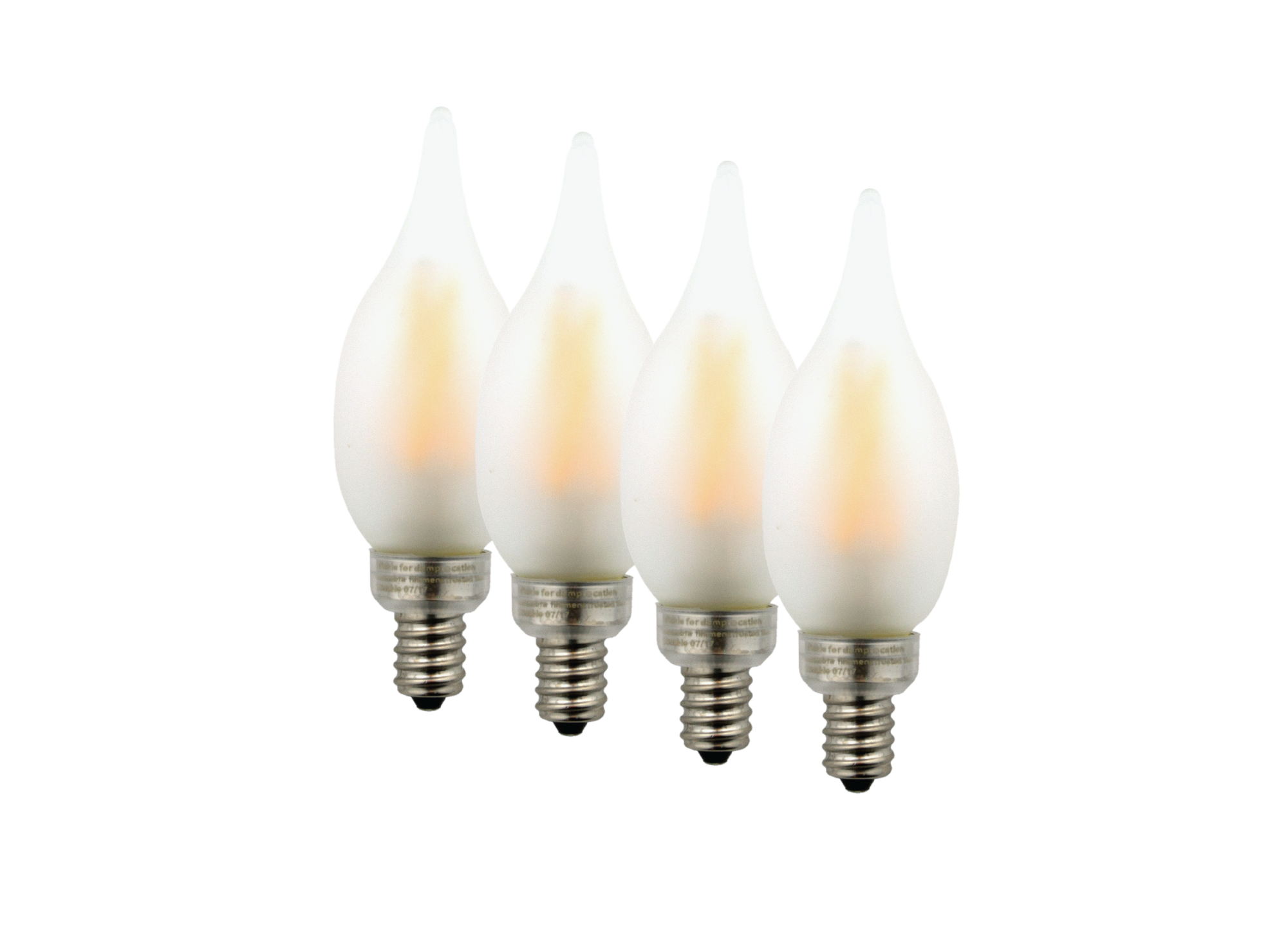 Led candelabra style filament frosted glass light bulb 40w truth led frosted glass candelabra flame tip design led light bulb with exposed filament 35 arubaitofo Image collections