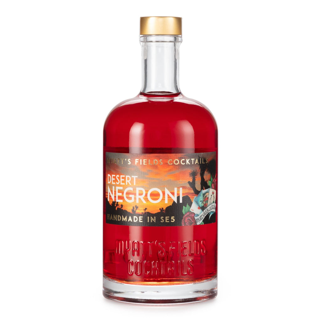 Desert Negroni - Myatt's Fields Cocktails