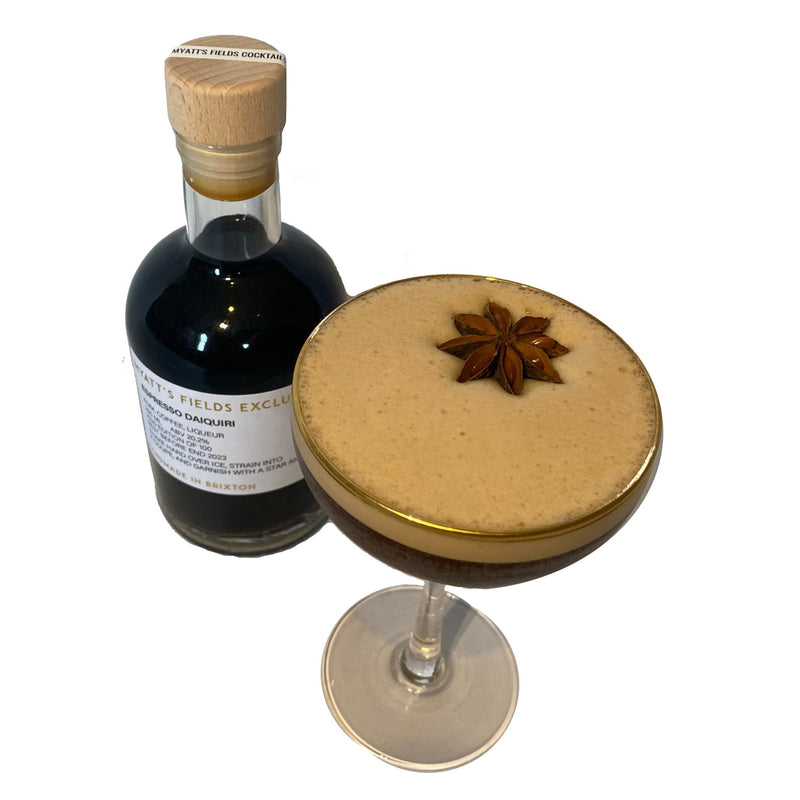 Espresso Daiquiri - Myatt's Fields Cocktails