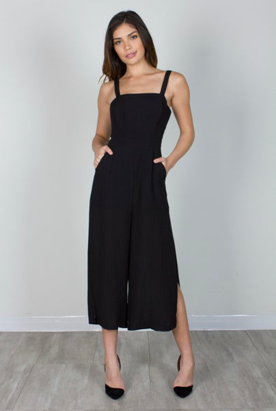 Teni Cropped Jumpsuit
