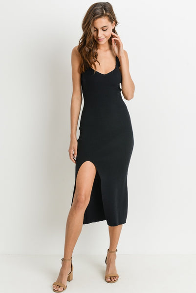 Sazan Black Dress