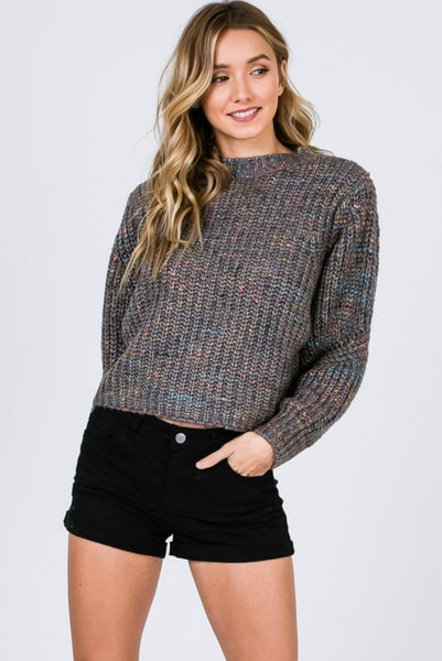 Anna Splatter Sweater